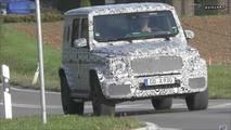 Mercedes-Benz G63 Spy Video