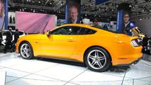 Ford Mustang 2018 ao vivo em Frankfurt