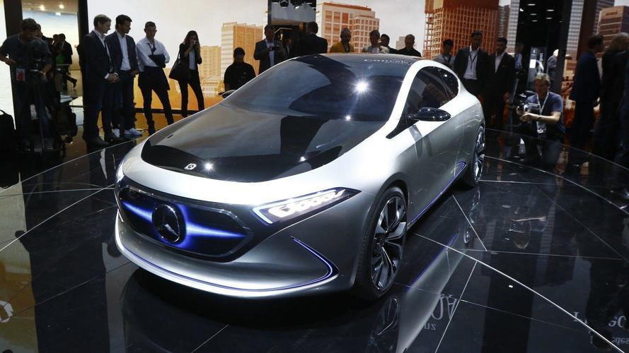 Mercedes-Benz Concept EQ A - Compacte et électrique