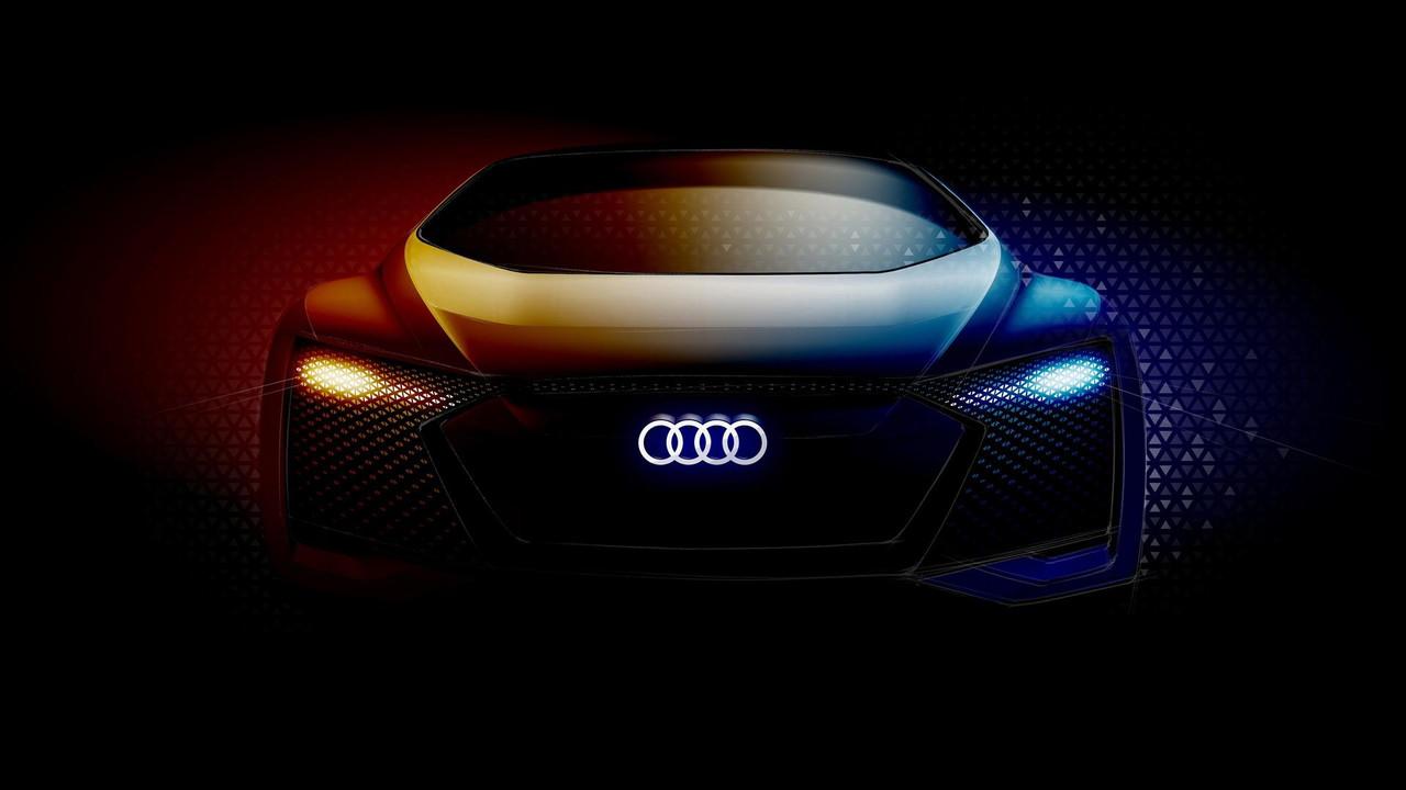 Audi concept teaser frankfurt 2017