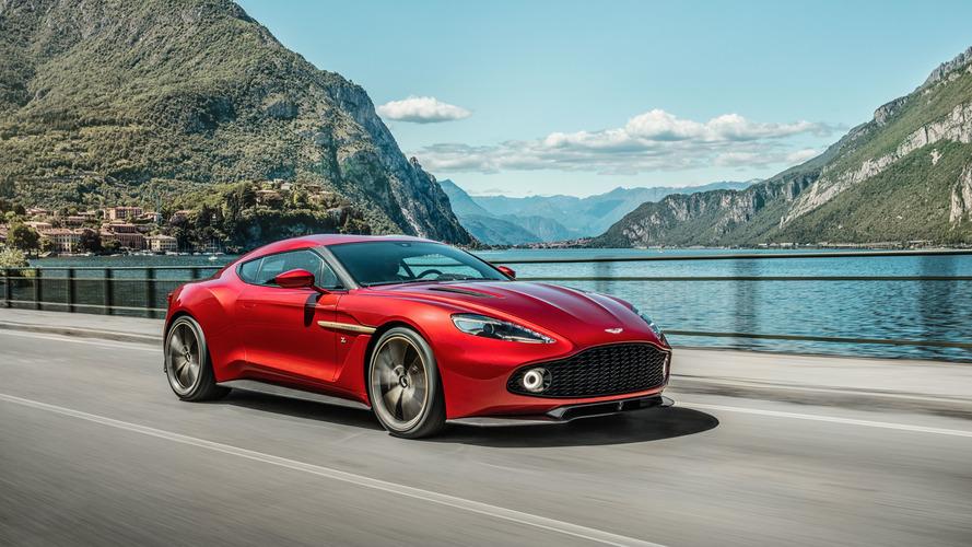 Sınırlı sayıda üretilen Aston Martin Vanquish Zagato Coupe göz kamaştırıyor