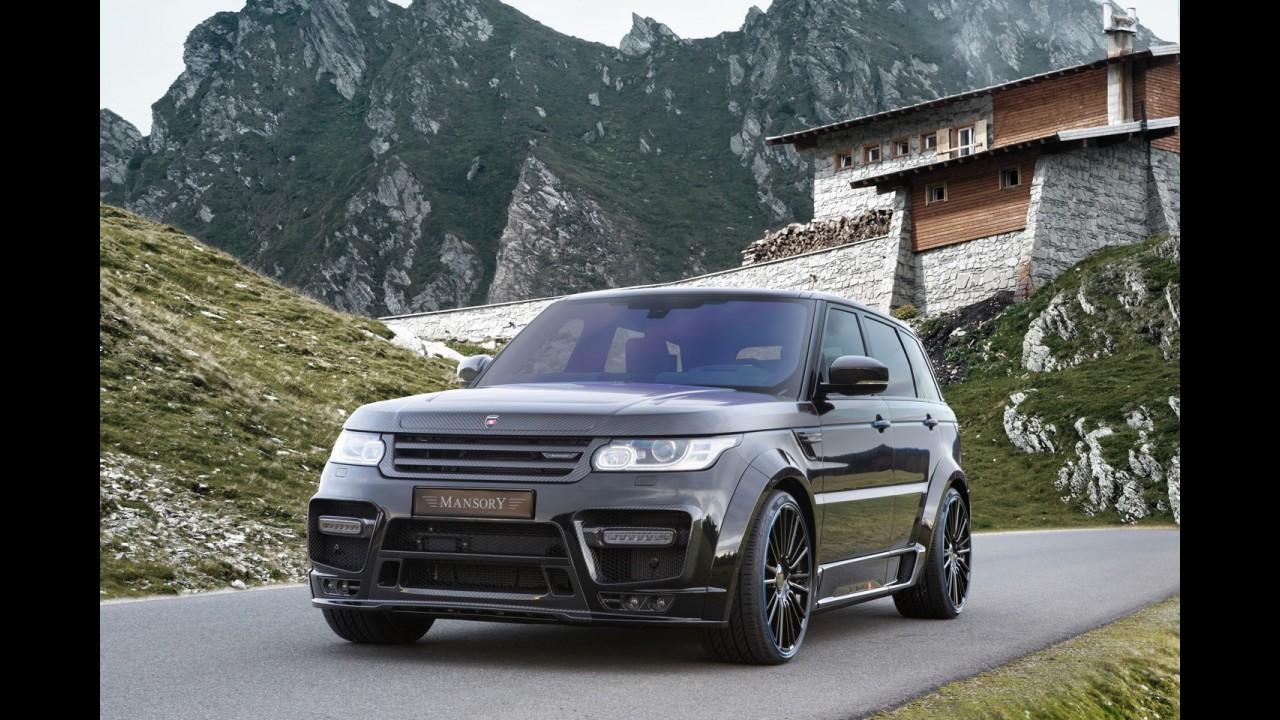 Mansory'den modifiye Range Rover Sport