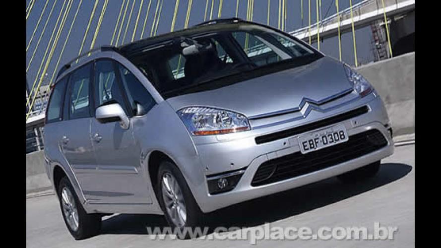 No Brasil: Citroën lança Grand C4 Picasso como teto solar panorâmico