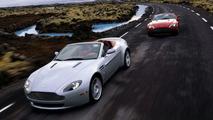 Aston Martin V8 Vantage Roadster Revealed