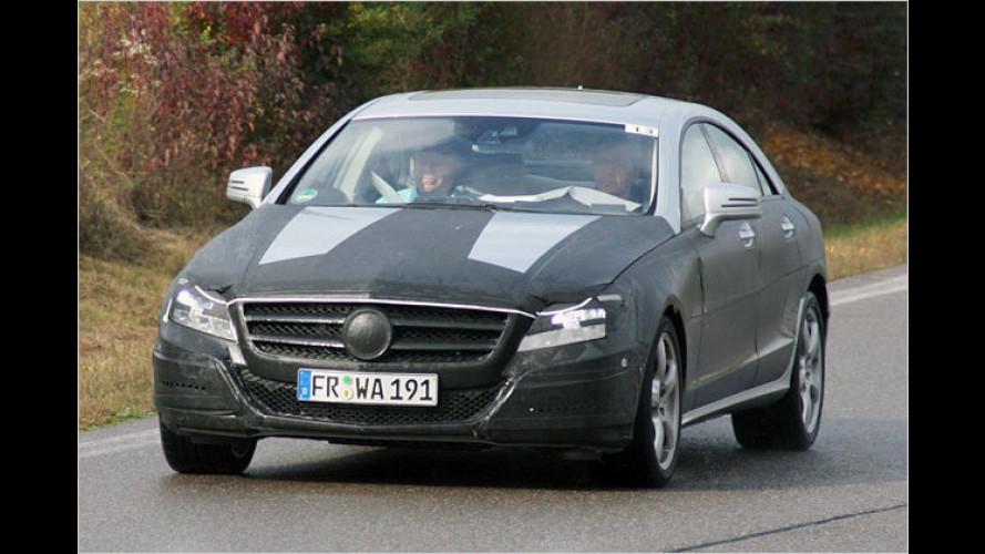 Erlkönig unterwegs: Mercedes bringt neuen CLS
