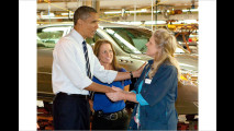 Obama fährt Elektroauto
