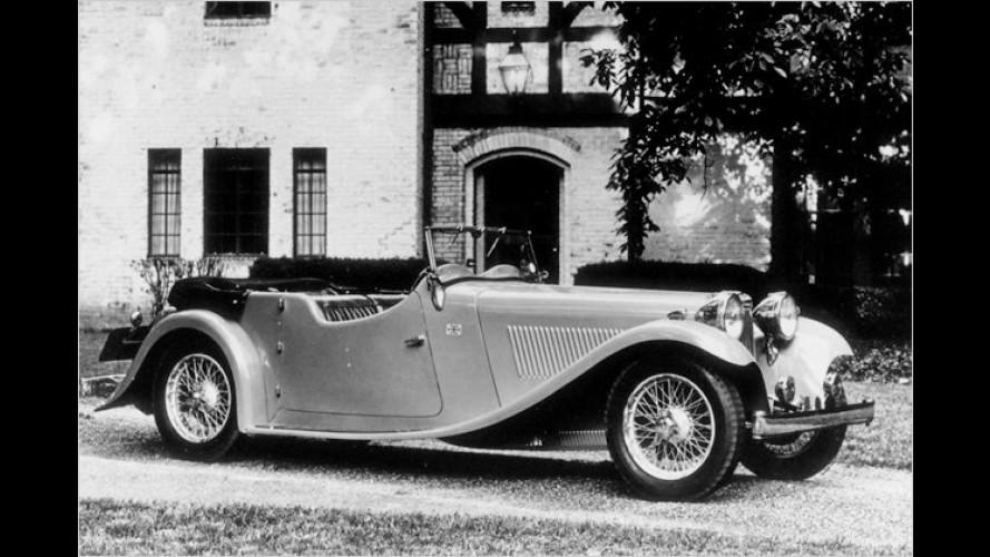 Jaguar feiert Geburtstag: 75 Jahre Eleganz