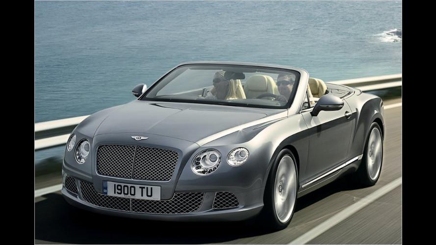 Ohne steifen Nacken reisen: Neuer Bentley Continental GTC