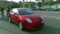 Alfa Romeo Mito Spied in Streets of Turin