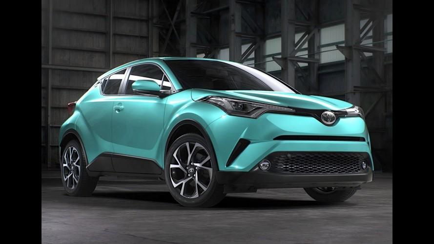Novo Toyota C-HR: interior da versão
