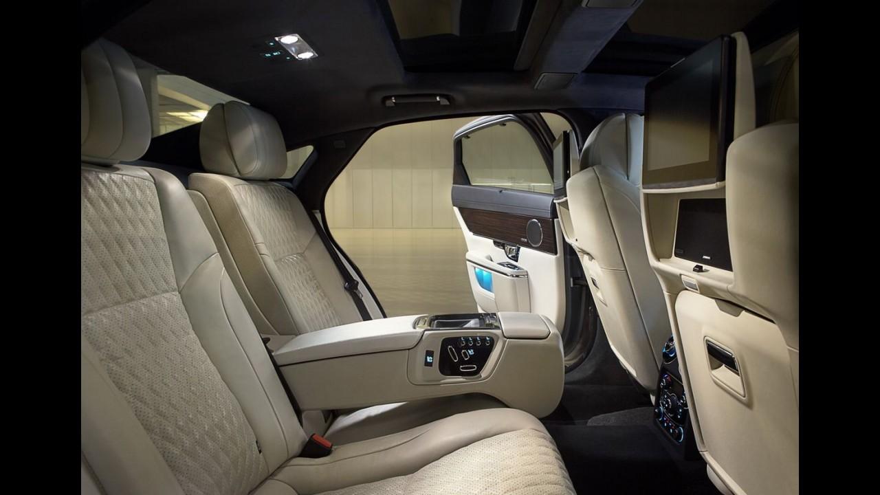 Jaguar XJ 2016 ganha retoque no visual e mais tecnologia - veja fotos