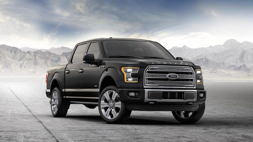 2016 Ford F-150 Limited announced as most luxurious F-150 ever [video]