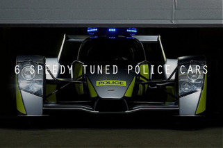 6 Wild Tuned Police Cars