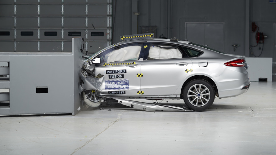 2017 Ford Fusion crashes its way to TSP+ award