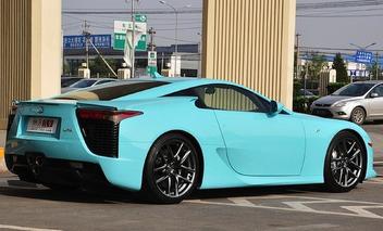 Classified of the Week: Baby Blue, $1.14M Lexus LFA