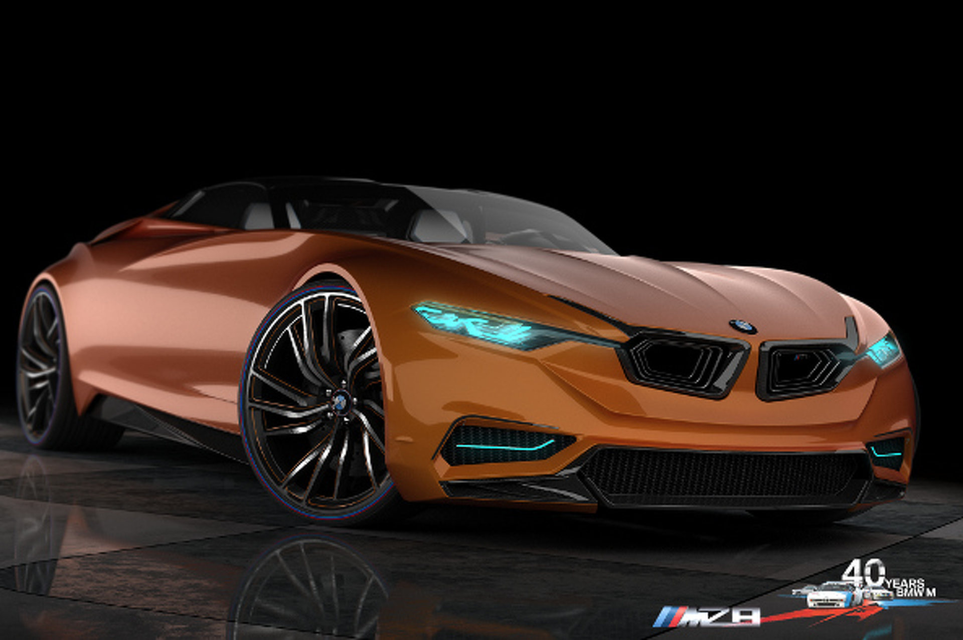 BMW MZ8 Envisions an M-Inspired Supercar