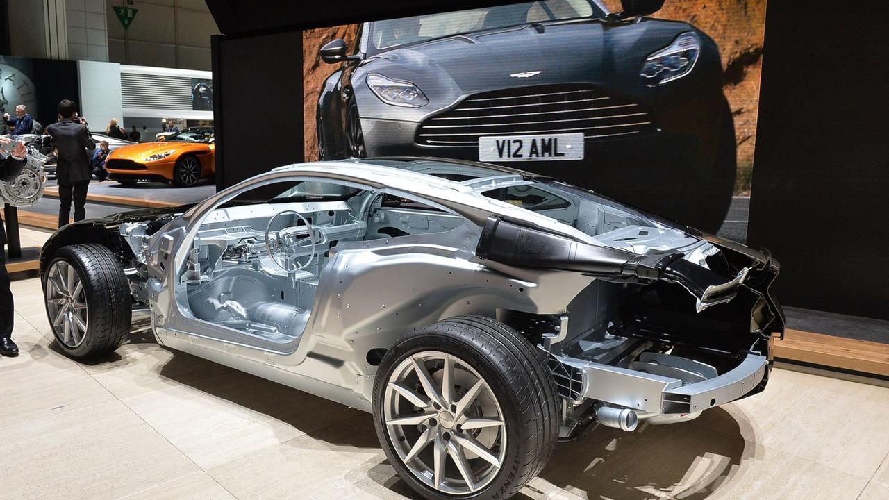 Aston Martin DB11 debut in Geneva