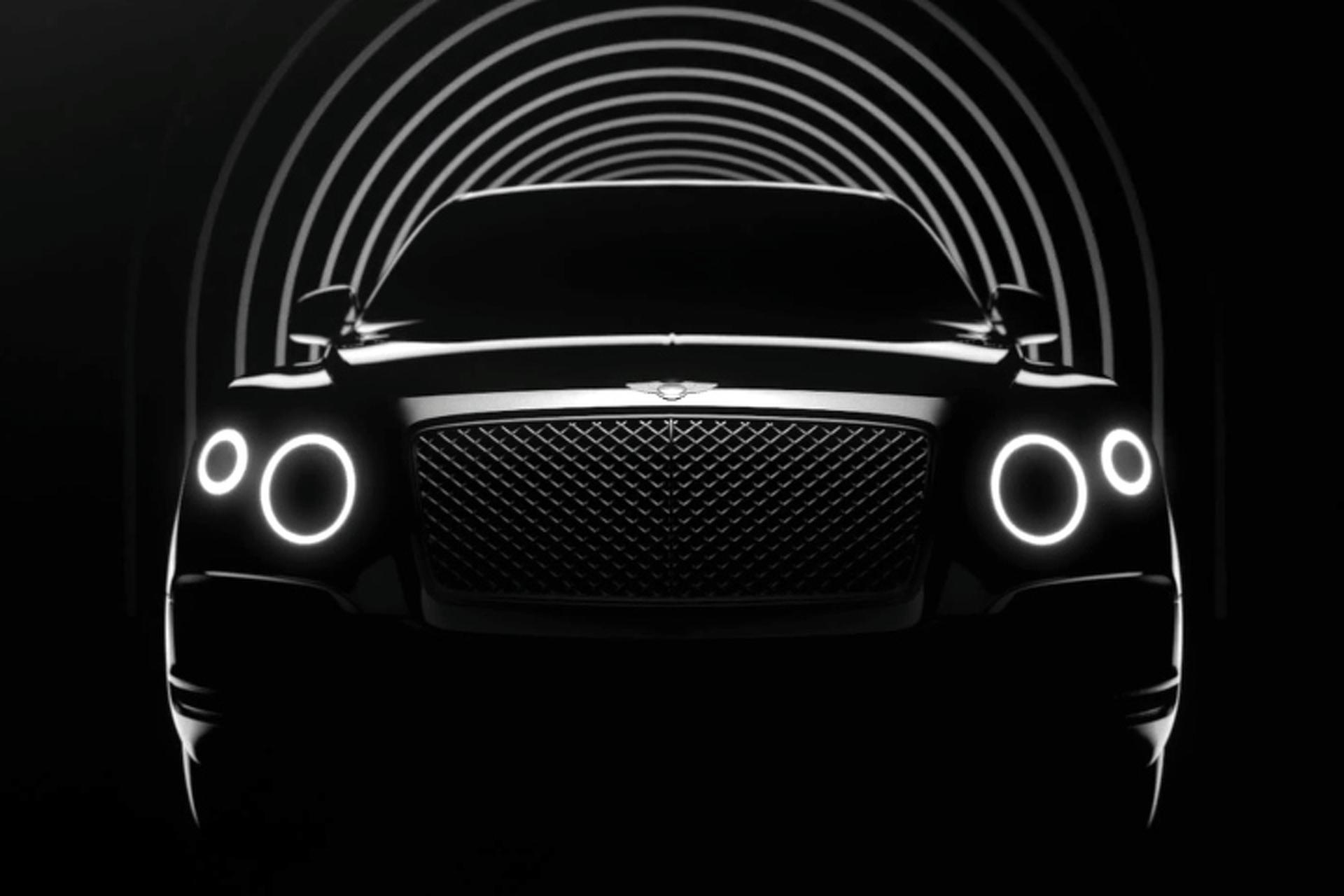 Bentley Teases Forthcoming SUV, Confirms Plug-In Hybrid Option
