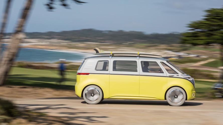 Volkswagen I.D. Buzz at Pebble Beach