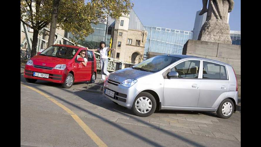 Daihatsu Cuore: Autozwerg kommt 2006 mit Mini-Facelift