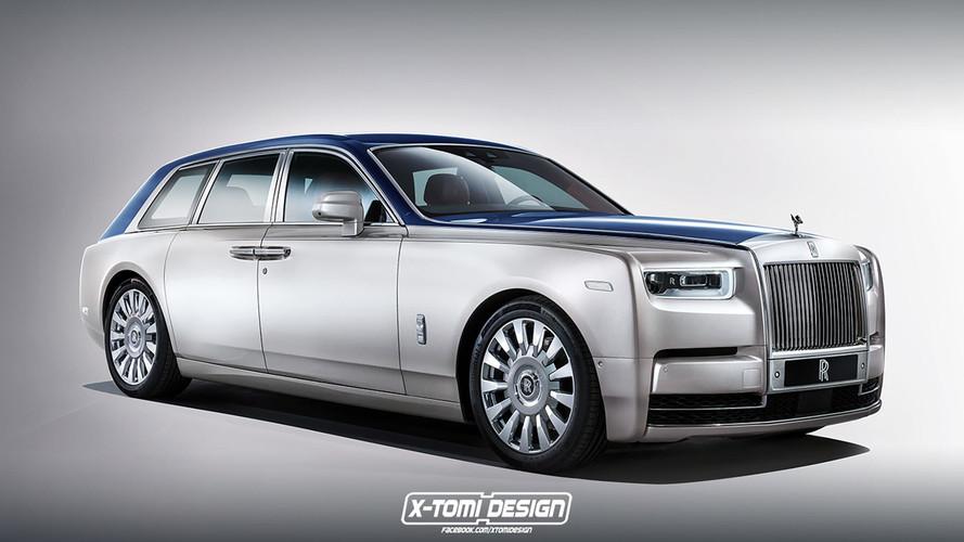 Három Rolls-Royce Phantom-változat, amik jó eséllyel csak renderképek maradnak