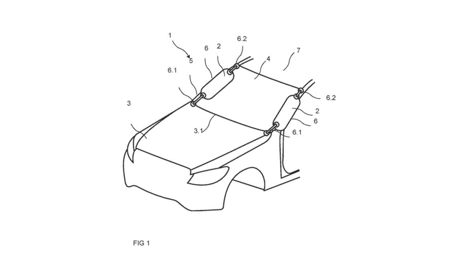 Mercedes-Benz A-Pillar Airbag Patent