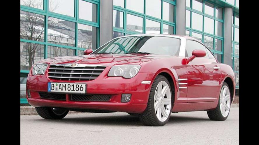 Chrysler Crossfire Coupé: Bequemer Sportler mit Edeldesign