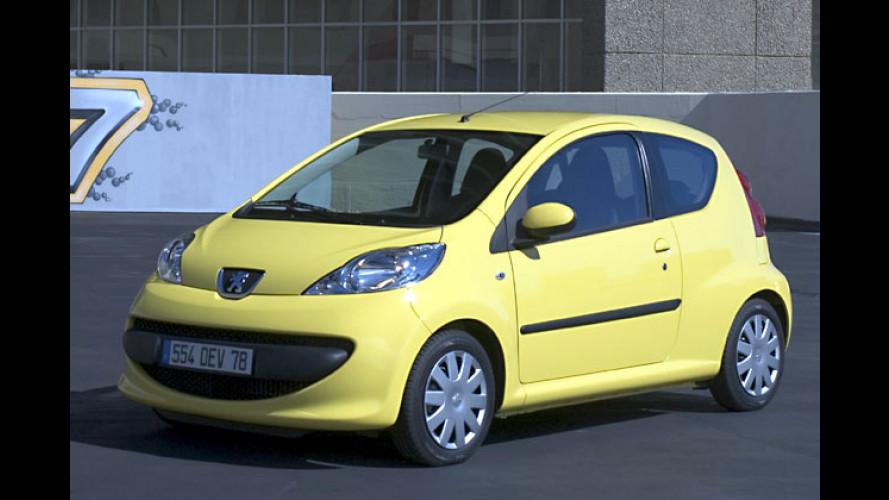 Peugeot 107: Nun sind Preise und Ausstattungen fix