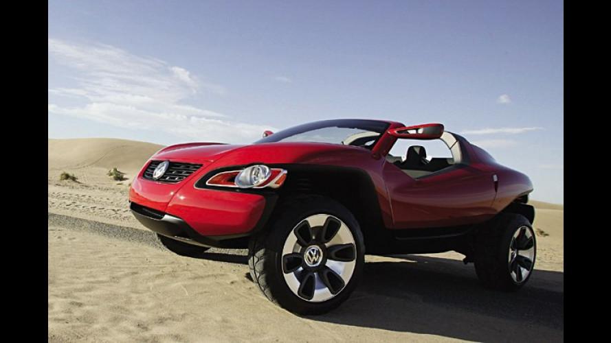 Volkswagen enthüllt Offroad-Coupé-Studie in Detroit