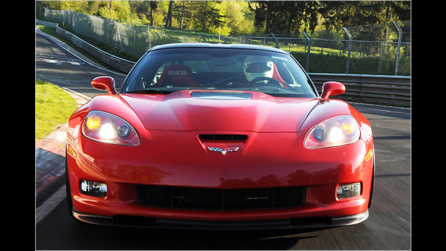 Höllenritt mit 647 PS: Die Corvette ZR1 auf der Nordschleife