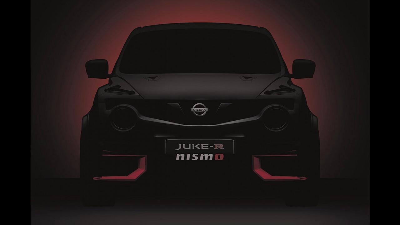 Nuova Nissan Juke-R Nismo, il primo teaser