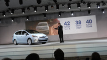 2012 Toyota Prius v - 2011 NAIAS