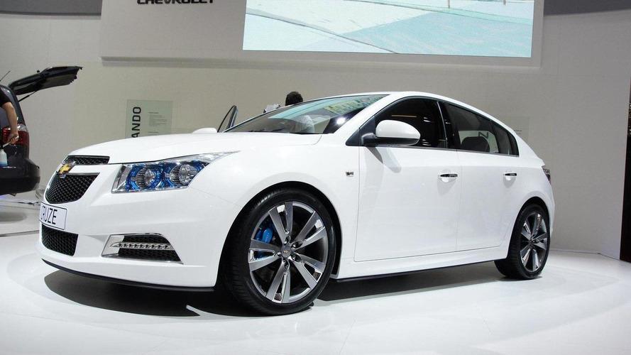 Chevrolet Cruze hatchback production version to debut in Geneva
