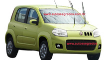 2011 Fiat Uno revival spy photo in Brazil - 1600 - 06.04.2010