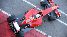 New Ferrari F60 - Felipe Massa