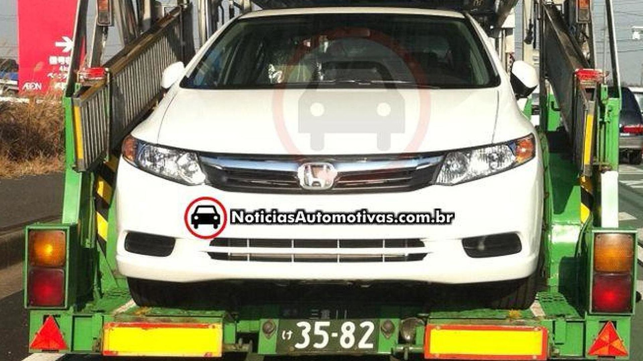 2012 Honda Civic sedan, US spec, spied in Suzuka Japan, 740, 03.02.2011