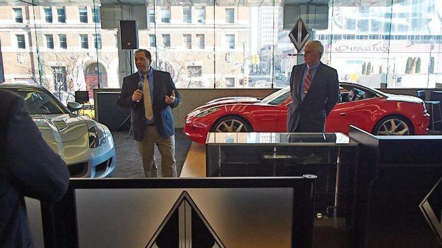 VL Automotive Destino Red concept bows in Detroit