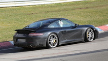 2015 Porsche 911 facelift spied on the Nurburgring