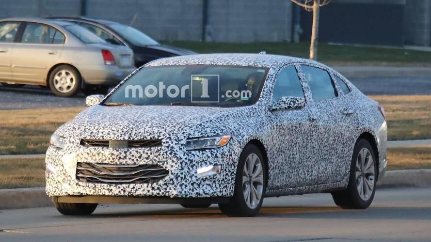 2019 Chevrolet Malibu Spy Shots