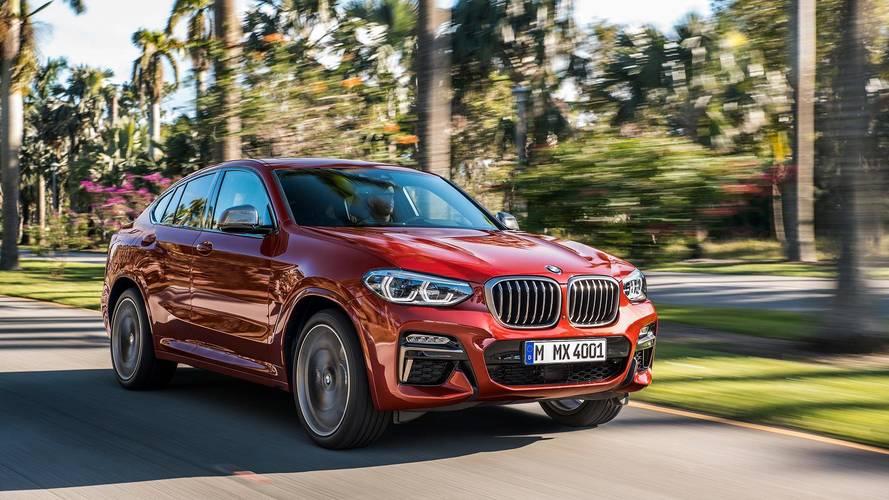 Itt az új BMW X4