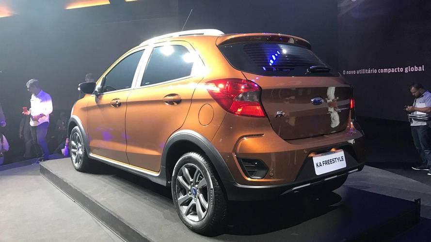 Ford Ka Freestyle - Brasil