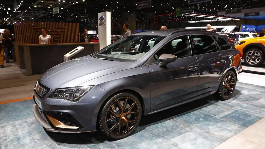 SEAT León CUPRA R ST salón de Ginebra 2018