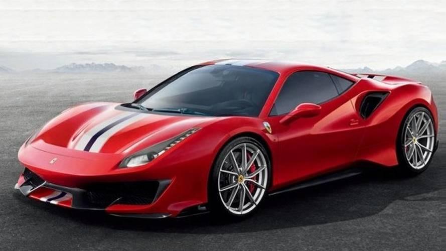 Ferrari 488 Pista: primeras imágenes oficiales filtradas