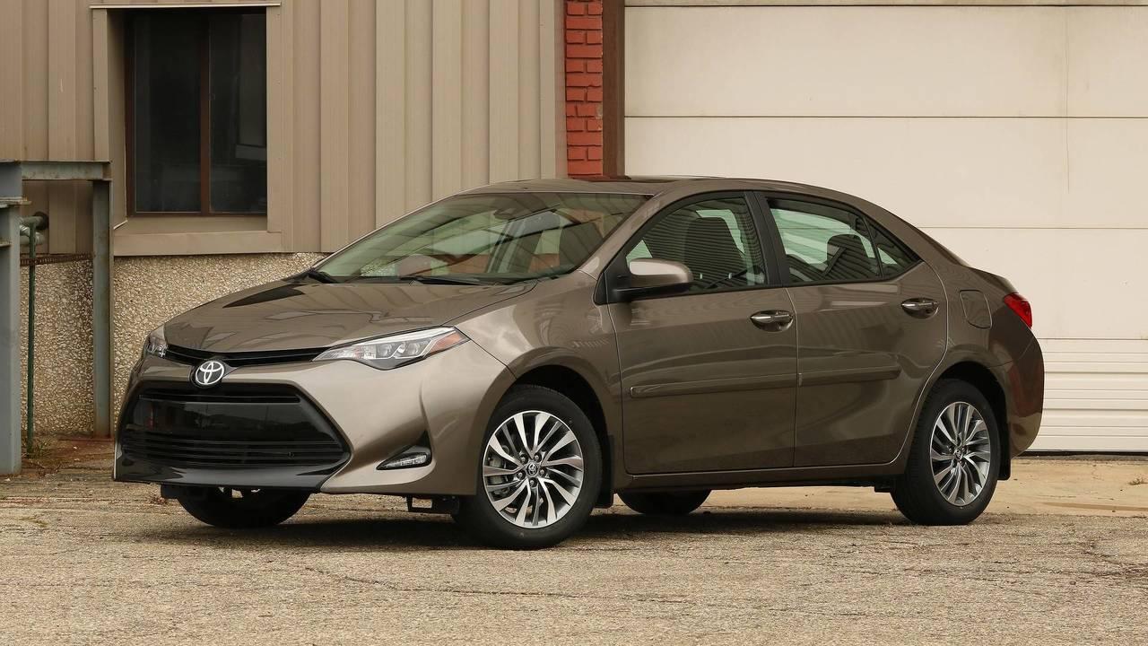 10. Toyota Corolla: 329,196 Units