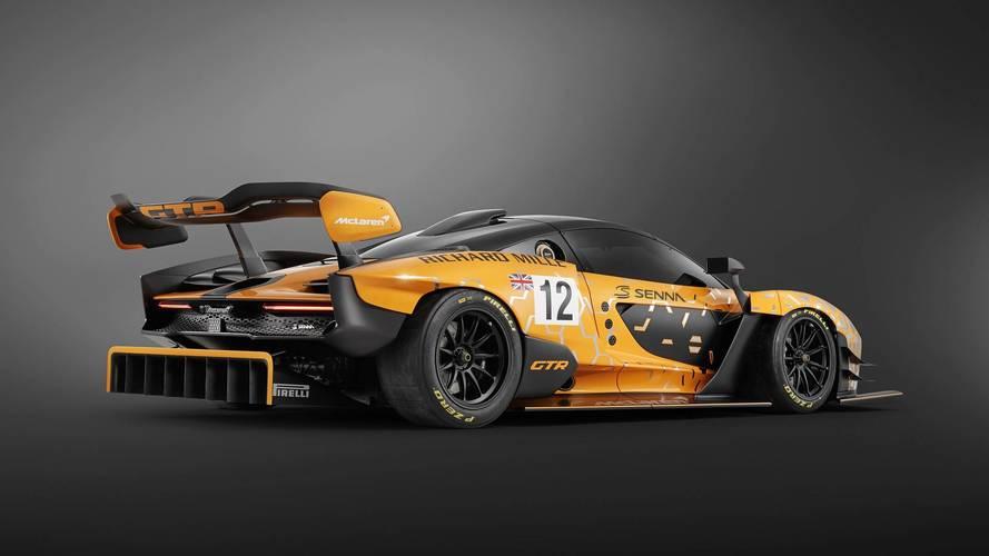 McLaren Senna GTR: así será la versión de carreras