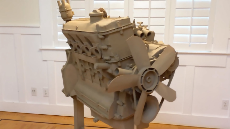 BMW Cardboard Engine Is Truly A Work Of Art