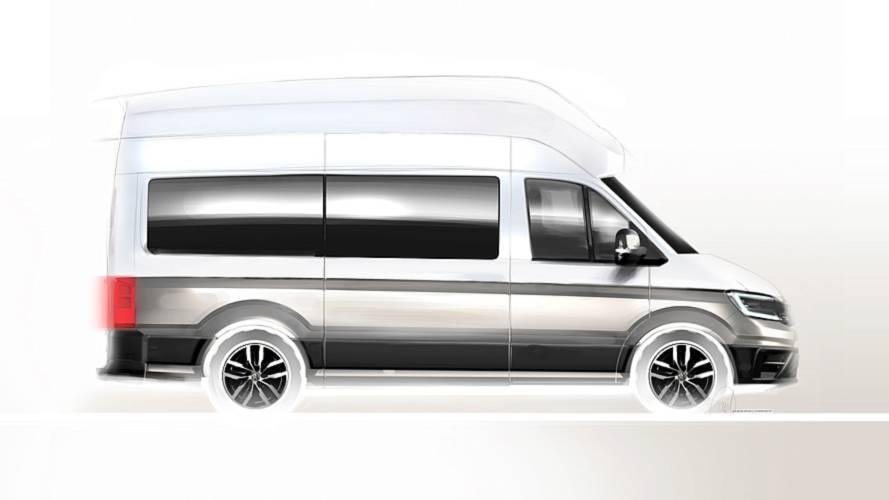 Volkswagen California XXL Camper Van teaser images