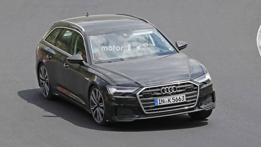 L'Audi S6 Avant surprise sans camouflage