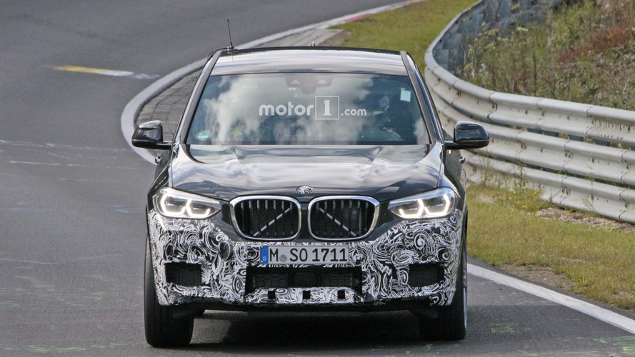 2019 BMW X3 M spy photos