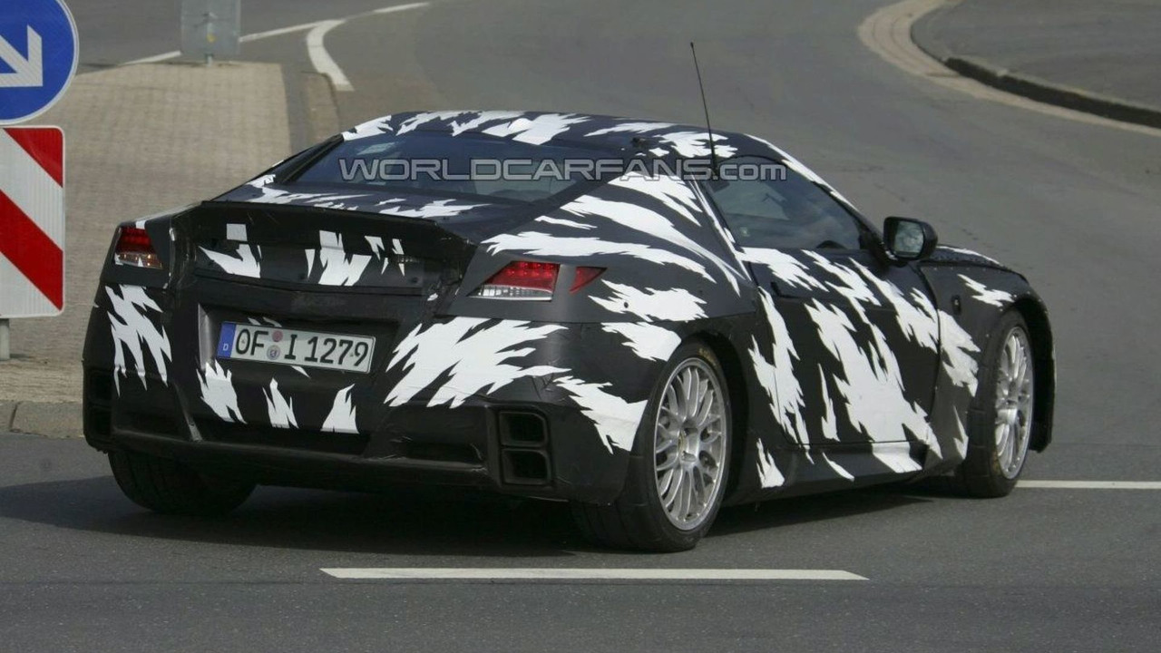 Honda NSX Prototype Spy Photos